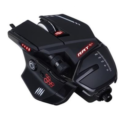 MAD CATZ RAT 6+ GAMING MOUSE BLACK