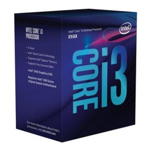 INTEL CORE I3-8100 1151 RETAIL