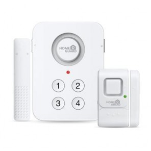 HOMEGUARD WIRELESS HOME ALARM KIT
