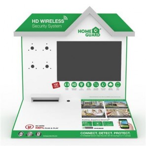 HOMEGUARD 1080P WIRELESS DISPLAY KIT