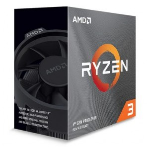 AMD RYZEN 3 3100 AM4 RET WRAITH STEALTH