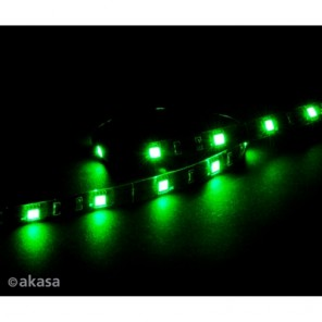 Akasa Vegas M AK-LD05-50GN Green Magnetic 15 LED Strip Light