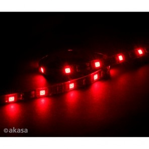 Akasa Vegas M AK-LD05-50RD Red Magnetic 15 LED Strip Light