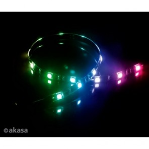 Akasa Vegas MB AK-LD05-50RB RGB Magnetic 15 LED Strip Light