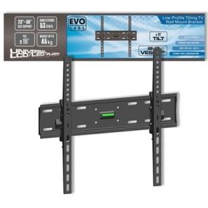 "Evo Labs Low-Profile Tilting TV Wall Mount Bracket (23-56"")"