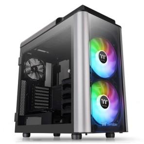 Thermaltake Level 20 GT ARGB Full Tower 1 x USB 3.1 Type-C / 2 x USB 3.0 / 2 x USB 2.0 4 x Tempered Glass Window Panels Black Case with Addressable RGB LED Fans