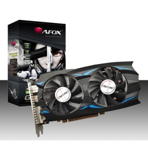 AFOX GeForce GTX1050Ti 4GB 128bit GDDR5 ATX Dual Fan Graphics Card