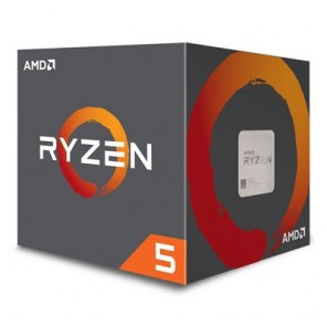 AMD Ryzen 5 2600X 3.6GHz Six Core AM4 Socket Overclockable Processor with Wraith Spire Cooler