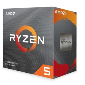 AMD Ryzen 5 3600x 3.8Ghz 6 Core AM4 Overclockable Processor with Wraith Stealth cooler