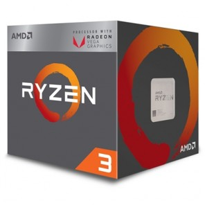 Ryzen 3 2200G with Radeon RX Vega 8 Graphics 3.5GHz Quad Core AM4 Socket Overclockable Processor with Wraith Stealth Cooler