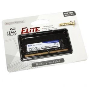Team Elite 4GB No Heatsink (1 x 4GB) DDR4 2400MHz SODIMM Laptop Memory