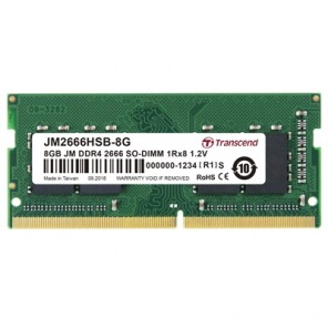Transcend 4GB (1 x 4GB) DDR4 2666MHz SODIMM Laptop Memory