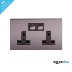 Energenie Mi|Home Smart Double Nickel Socket
